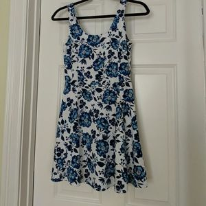 H&M floral mini dress